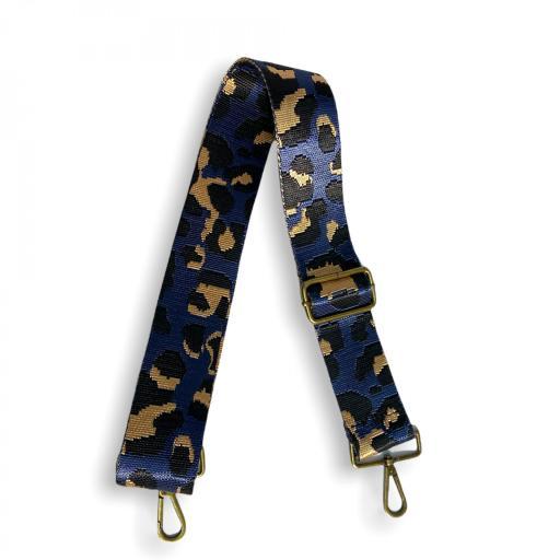 Correa animal print leopardo morado [0]