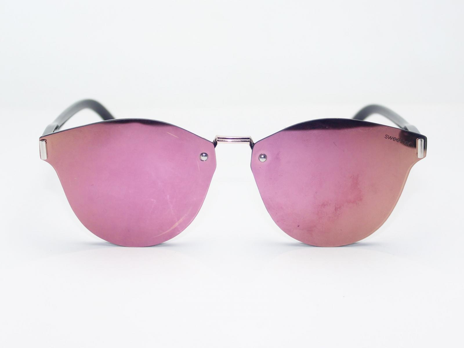 gafas espejo club rosa