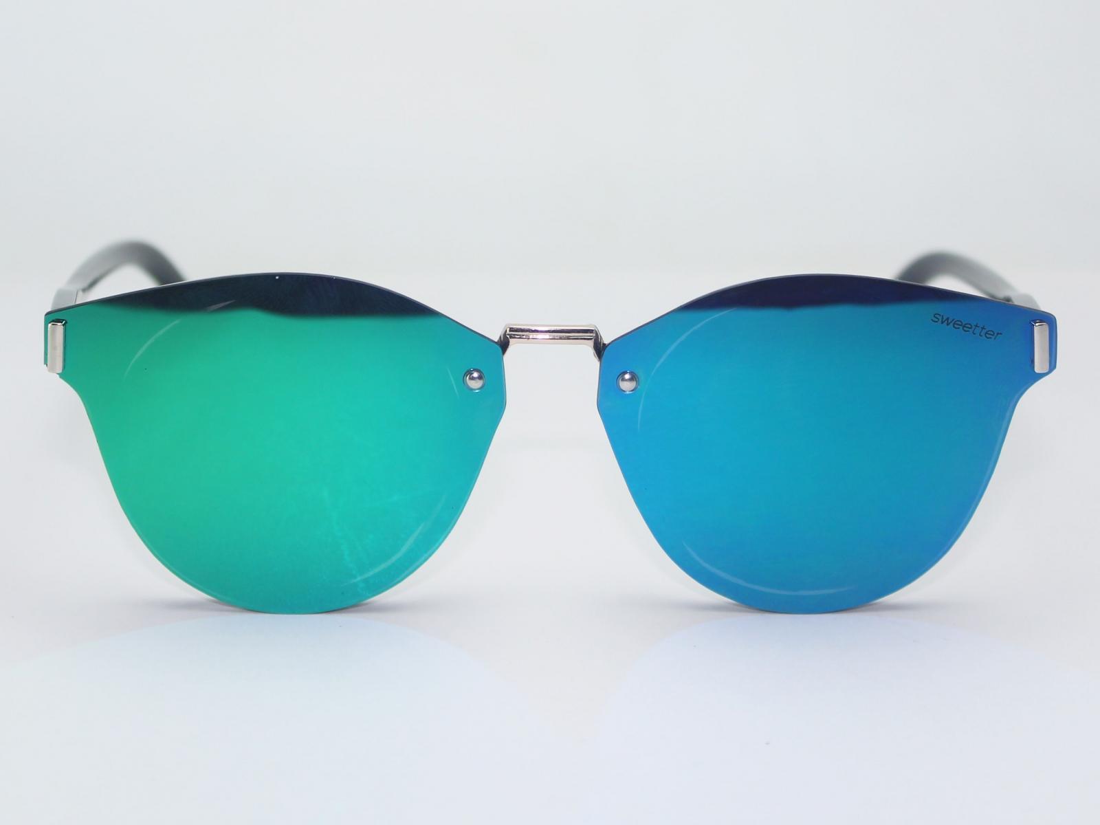 Gafas espejo club azul