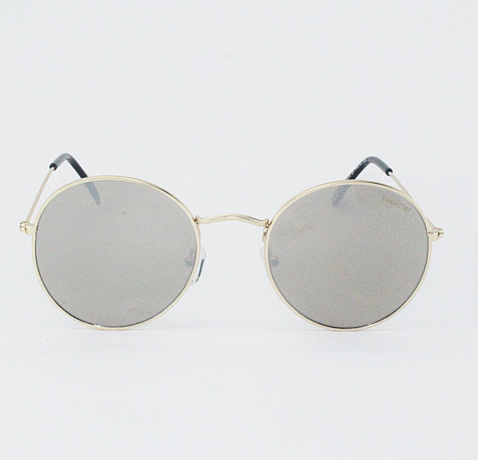 Gafas round metal espejo