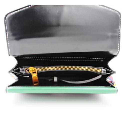 Mini bolso Super Start en negro-verde [3]