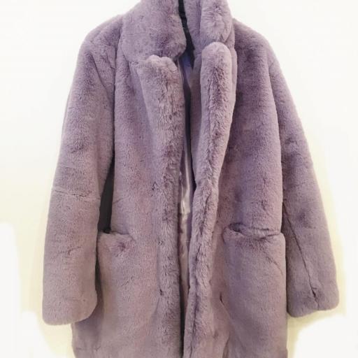 Abrigo peluche sintético [0]