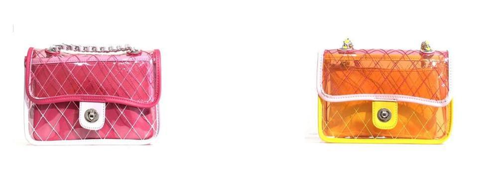 El bolso transparente, uno de los modelos que no pueden faltar en tu armario