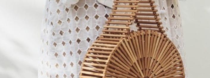 La tendencia de bolsos de bambú para este año