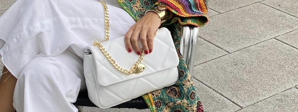 Un bolso blanco: tu nuevo imprescindible para este otoño/invierno