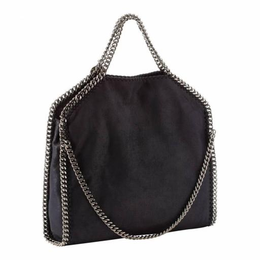 Bolso estilo cadena negro [1]