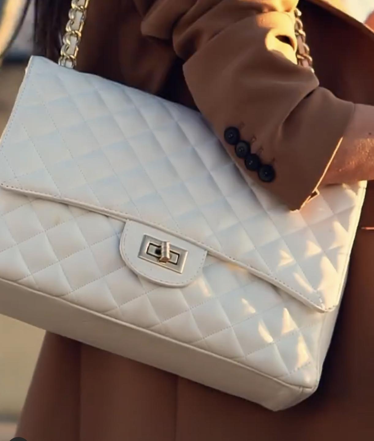bolsos en color blanco