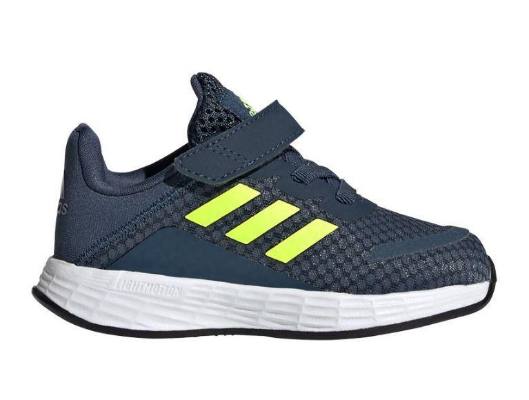Zapatillas Adidas Duramo SL I Velcro Niños Azul Marino/Amarillo