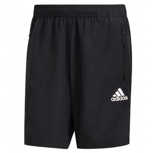Pantalón Corto Adidas AeroReady Woven Short D2M Negro
