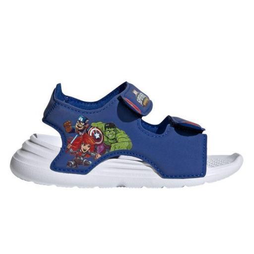 Sandalias Adidas Swim Sandal Velcro Marvel Los Vengadores