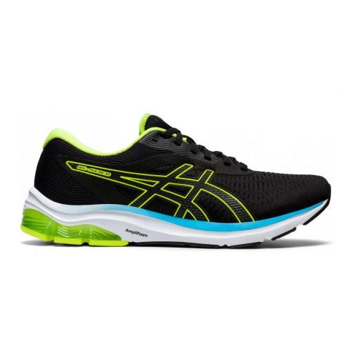 Zapatillas Asics Gel-Pulse 12 Negro/Amarillo