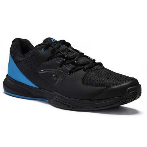 Zapatillas HEAD Brazer 2.0 Tenis Padel Hombre Negro/Azul