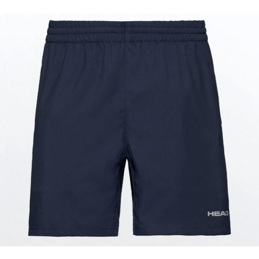 Pantalón Corto HEAD Club Shorts M Azul Marino
