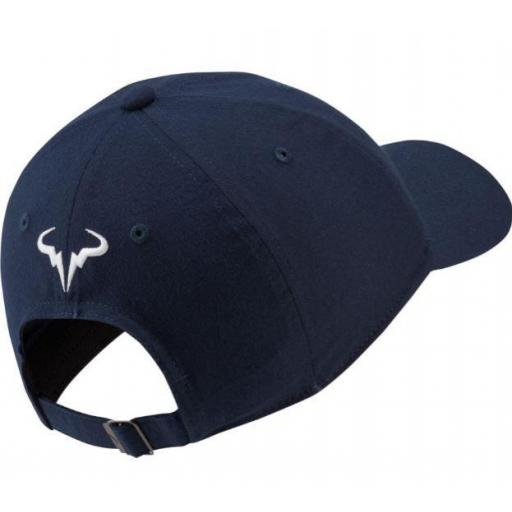 Gorra Nike Rafa Nadal AeroBill H86 Azul Marino [1]