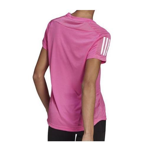 Camiseta Adidas Own The Run Tee Mujer Rosa [2]