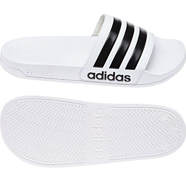 Chanclas Adidas Adilette Shower Blanca/Negra