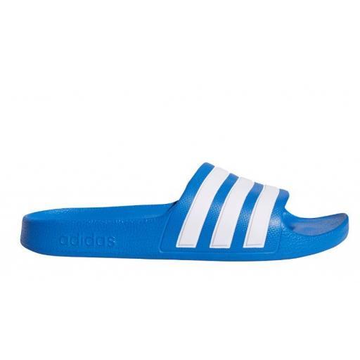 Chanclas Adidas Adilette Aqua K Azul/Blanco