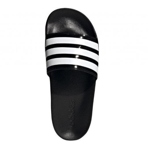Chanclas Adidas Adilette Shower Negro Brillante/Blanco [1]