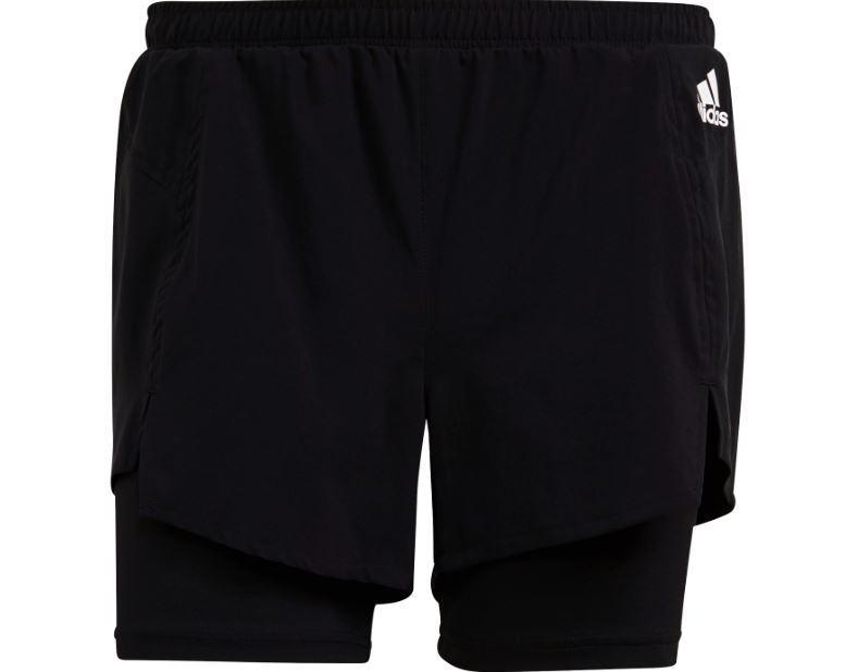Adidas Pantalón Corto con Malla 2in1 Short Mujer