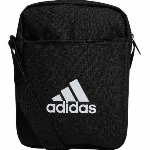 Bolso Adidas Organizador Linear Core Negro/Blanco
