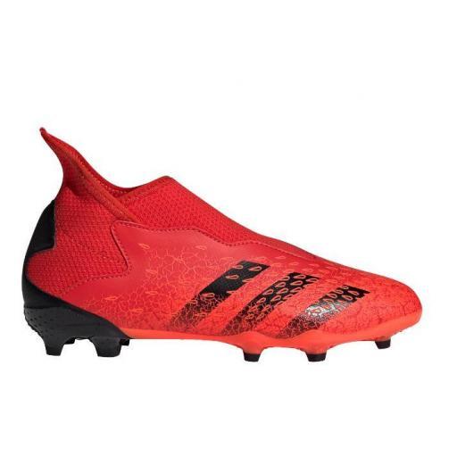 Botas Fútbol Adidas Predator Freak .3 LL FG Niños Naranja