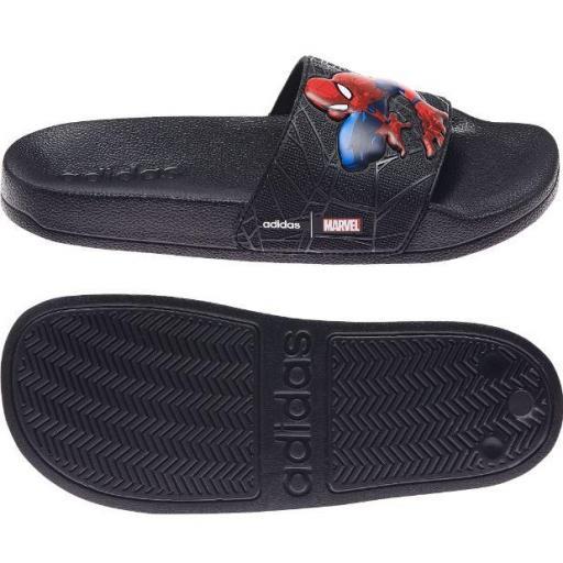 Chanclas Adidas Adilette Shower Niños Marvel Spiderman