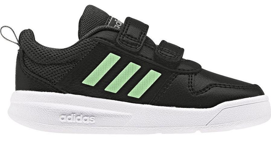 Zapatillas Adidas Tensaur I Niño Velcro Negro/verde