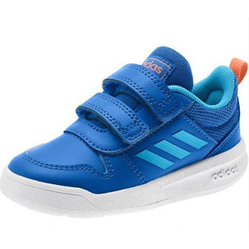 Zapatillas Adidas Tensaur I Velcro Niños Azul/Celeste [2]