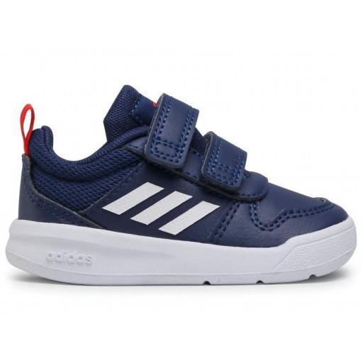 Zapatillas Adidas Tensaur I Velcro Niño Pequeño Azul Marino