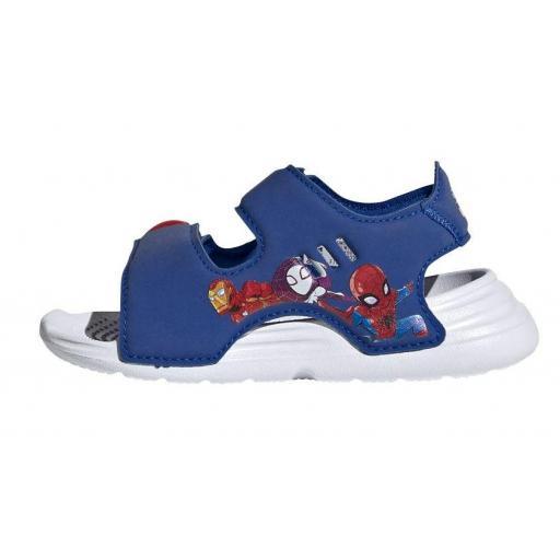 Sandalias Adidas Swim Sandal Velcro Marvel Los Vengadores [1]