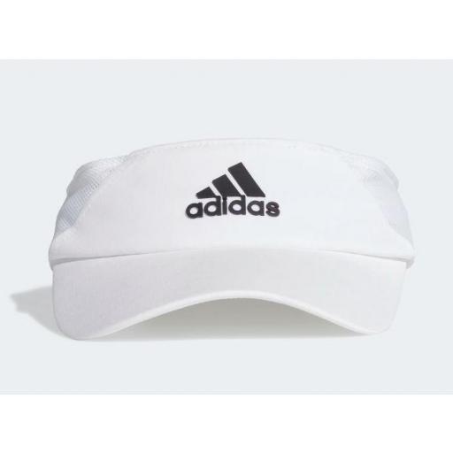 Visera Adidas Visor AeroReady Mujer Blanco [3]