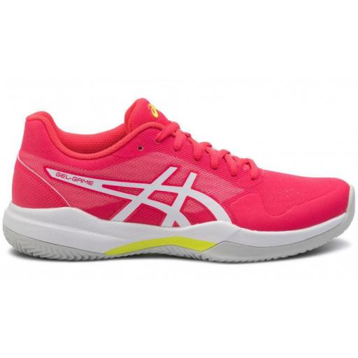 Zapatillas Asics Gel-Game 7 Clay/OC Tenis Mujer Rosa