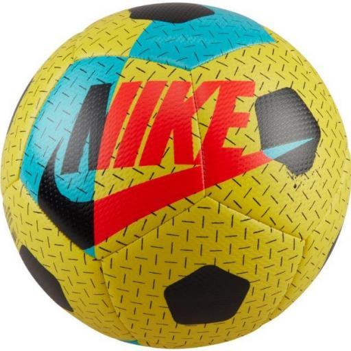 Balón Nike Street Akka Fútbol Sala Amarillo/Rojo/Azul