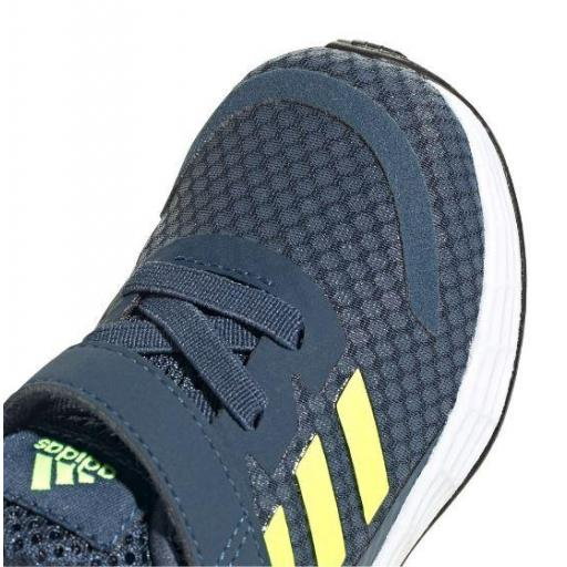 Zapatillas Adidas Duramo SL I Velcro Niños Azul Marino/Amarillo [2]