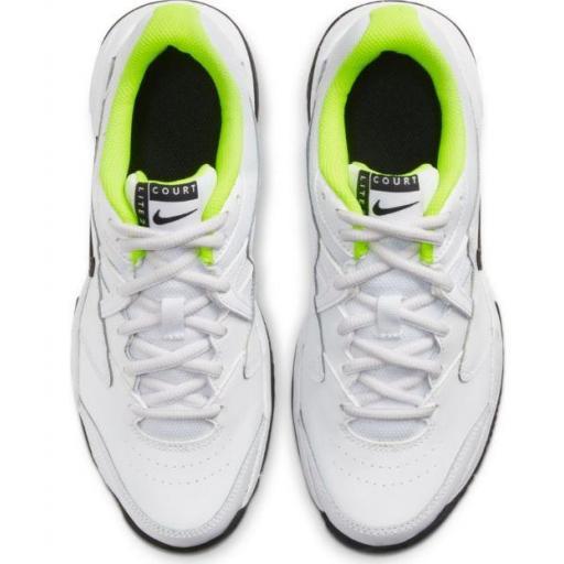 Zapatillas Nike Court Lite 2 Junior Tenis Blanco [2]