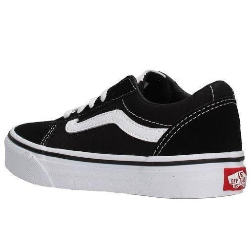 Zapatos Vans YT Ward Niños Negro/Blanco [2]
