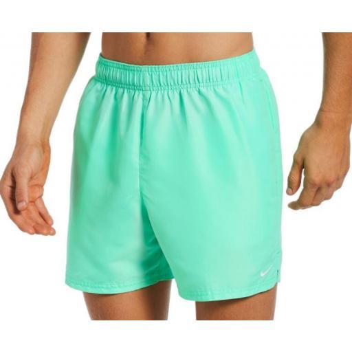 Bañador Nike Swim Essential Volley 5 Short Verde Claro
