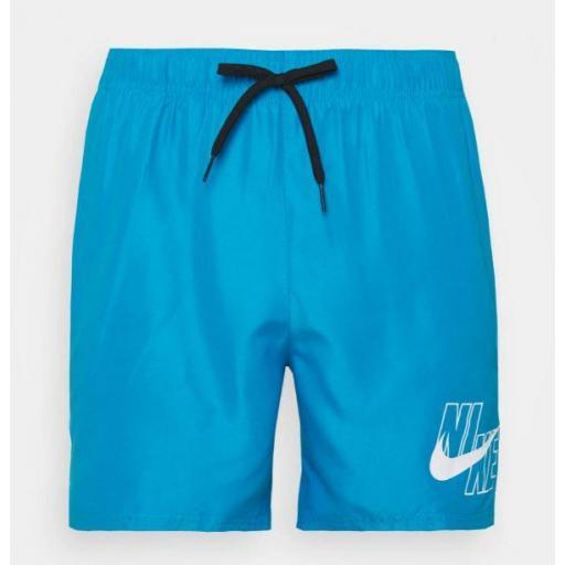 "Bañador Nike Swim Logo Lap 5"" Volley Short Azul"