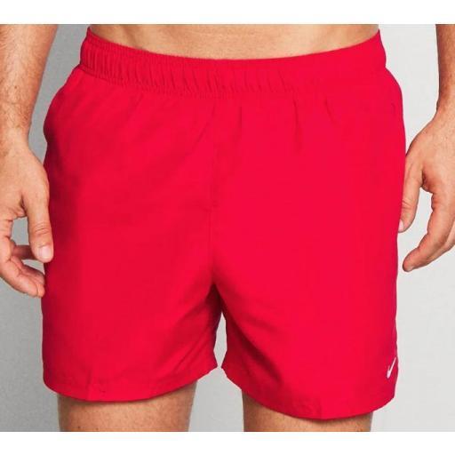 """Bañador Nike Swim Essential Volley 5"""" Short Rojo [1]"""