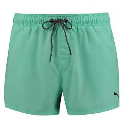 Puma Bañador Corto Swim Short Lenght Verde Menta