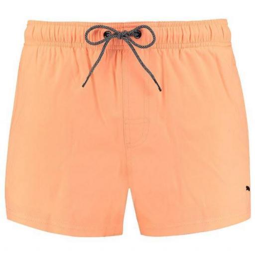 Bañador Puma Swim Short Lenght Naranja