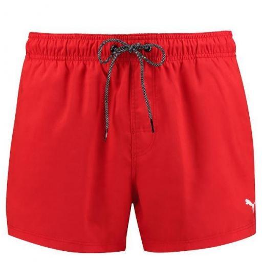 Bañador Puma Swim Short Lenght Rojo