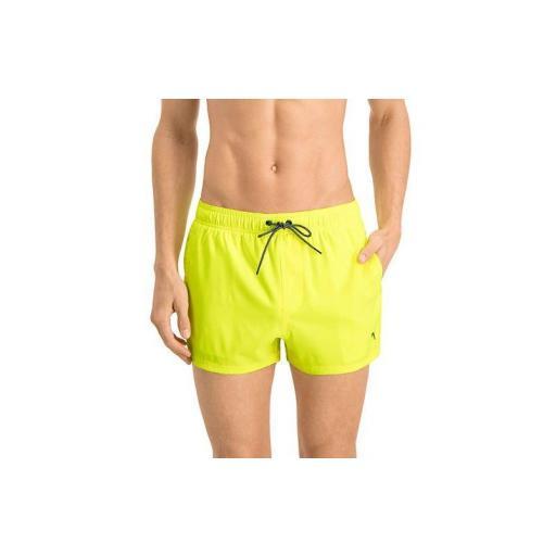 Bañador Puma Swim Short Lenght Amarillo Fluor [1]