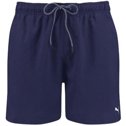 Bañador Puma Swim Men Medium Short Azul Marino
