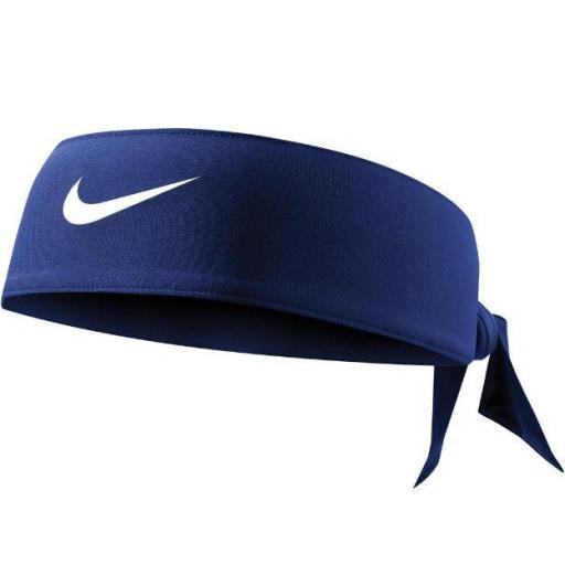 Bandana Nike Dri-FIT Head Tie 3.0 Azul Oscuro