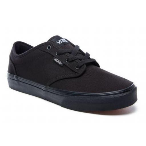 Zapatillas Vans Yt Atwood Niño Negra [1]