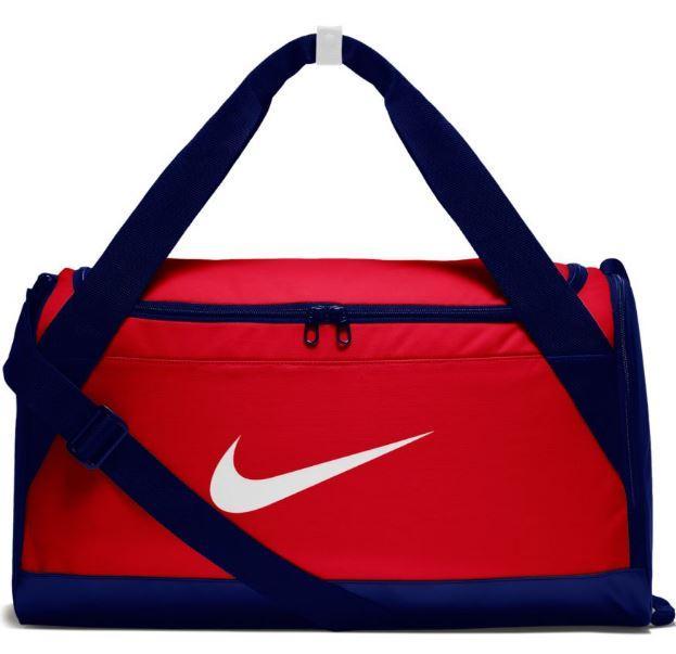 Bolsa Deporte Nike Brasilia S Training Duffel Bag Rojo Azul