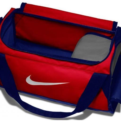 Bolsa Deporte Nike Brasilia S Training Duffel Bag Rojo Azul [1]