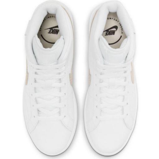 Zapatillas Nike Court Royale 2 MID Blanco/Dorado [2]