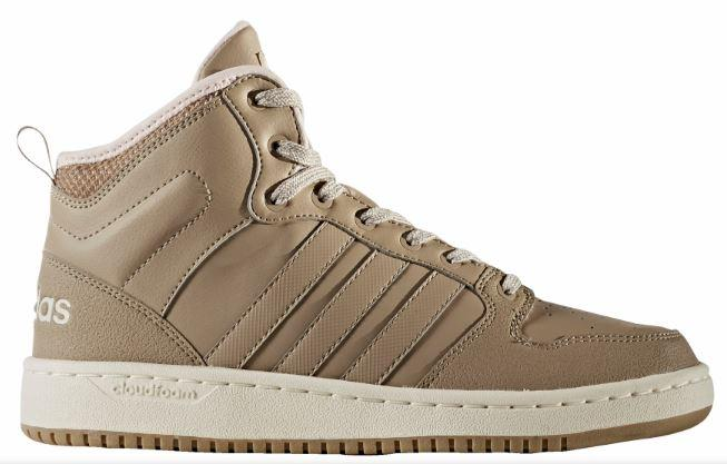 Zapatos Adidas Mujer Cloudfoam Hoops Winter Mid